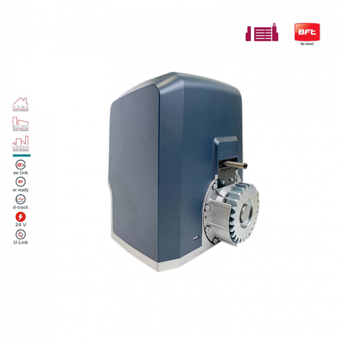 Kit automatizare porti culisante, BFT, Ares Veloce BT A500, 500Kg/poarta, 4m cremaliera, 24V | I-Systems [2]