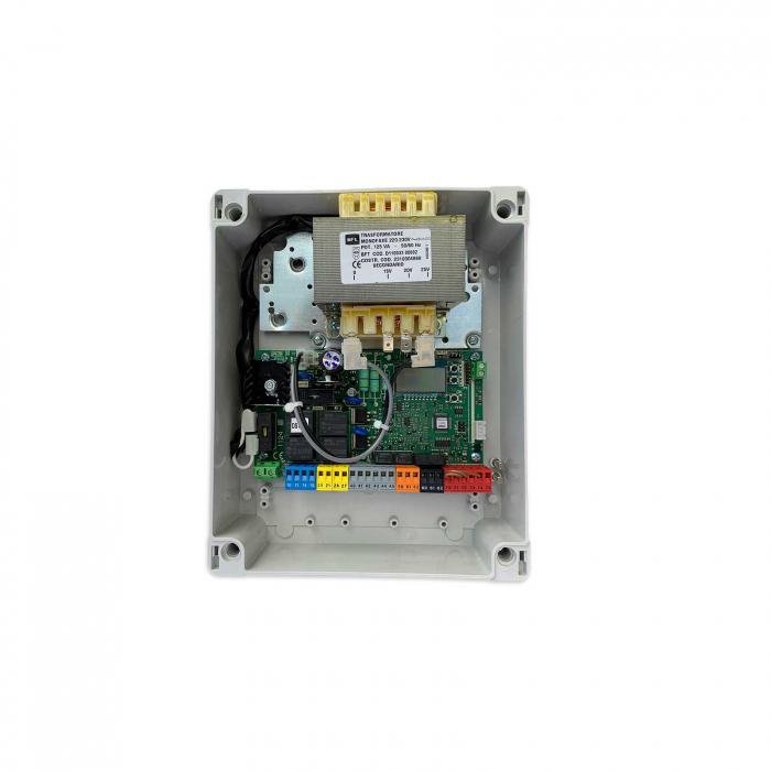 Kit automatizare poarta batanta cu brat articulat, BFT, E5 BT-A18, 1.8m/canat, 100Kg, 24V   I-Systems [2]