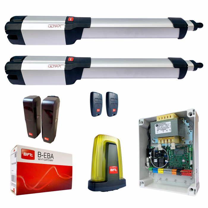 Kit automatizare porti batante, BFT, Kustos Ultra BT A25, 2.5m, 400Kg, B-EBA | I-Systems [0]