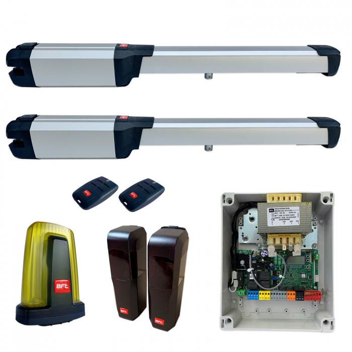 Kit automatizare porti batante, BFT Phobos AC A25, 2.5m/canat, 400Kg/poarta   I-Systems [0]