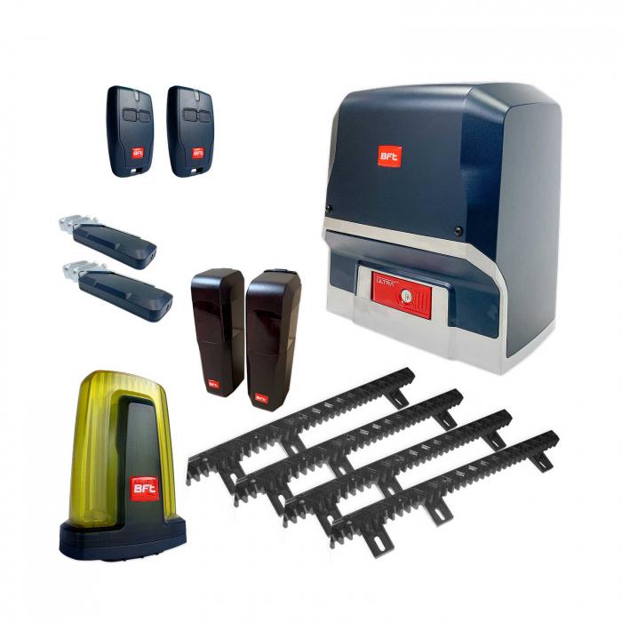 Kit automatizare porti culisante, BFT, Ares Ultra BT A1000, 1000Kg/poarta, 4m cremaliera, 24V   I-Systems [0]