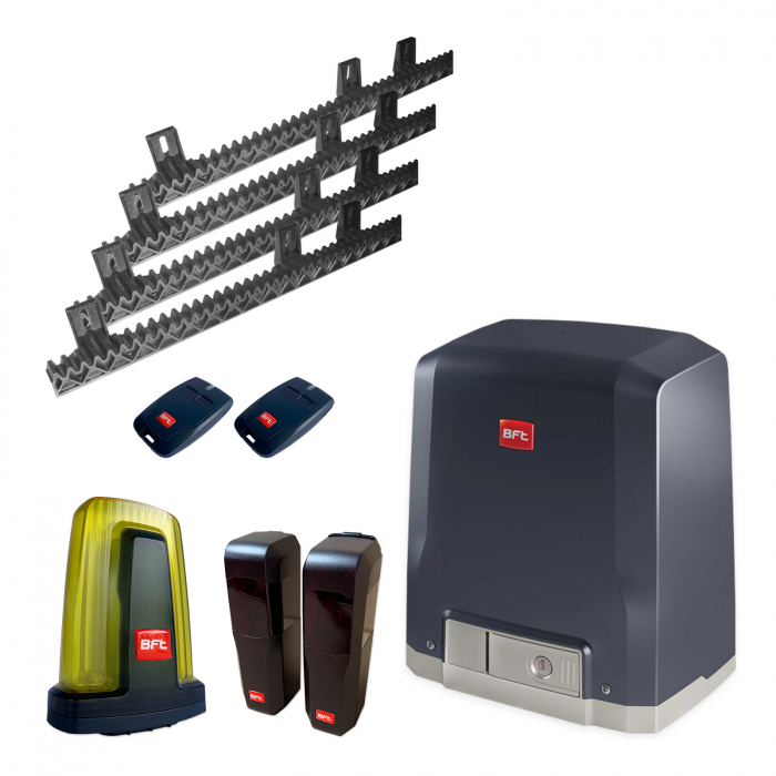 Kit automatizare porti culisante, BFT, Deimos BT A400, 400Kg/poarta, 4m cremaliera | I-Systems [0]