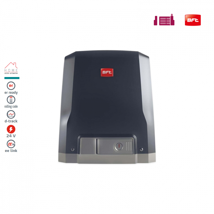 Kit automatizare porti culisante, BFT, Deimos BT A400, 400Kg/poarta, 4m cremaliera | I-Systems [2]