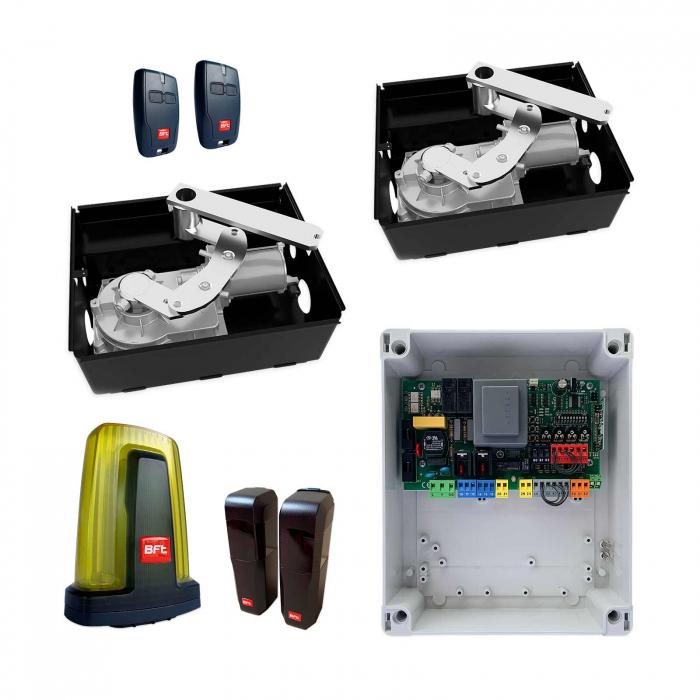 Kit automatizare porti batante, BFT, ELI AC A40, 4m/canat, 500Kg/poarta, 230V   I-Systems [0]