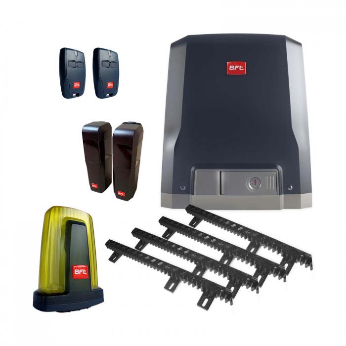 Kit automatizare porti culisante, BFT, Deimos AC A800-V, 400Kg/poarta, 4m cremaliera, 230V | I-Systems [0]