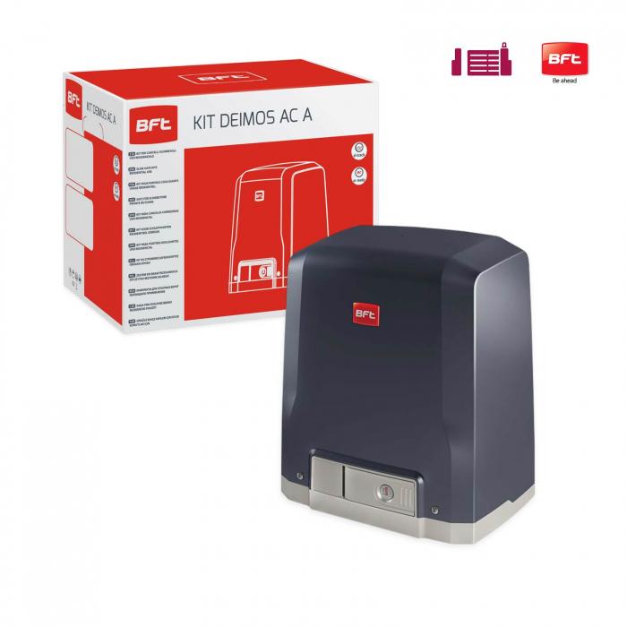Kit automatizare porti culisante, BFT, Deimos AC A800-V, 400Kg/poarta, 4m cremaliera, 230V | I-Systems [1]