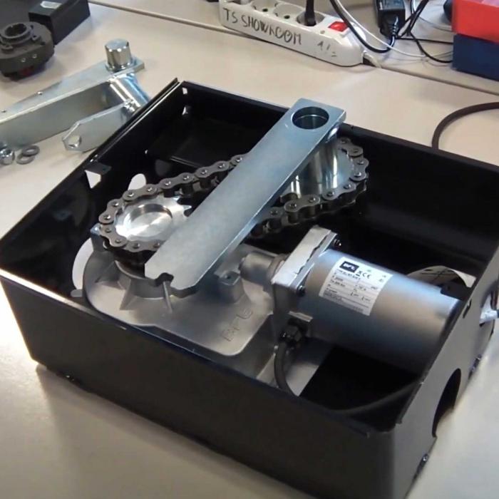 Kit extensie deschidere poarta pana la 180°, BFT, E180, pentru motoarele ELI BT, ELI AC   I-Systems [2]