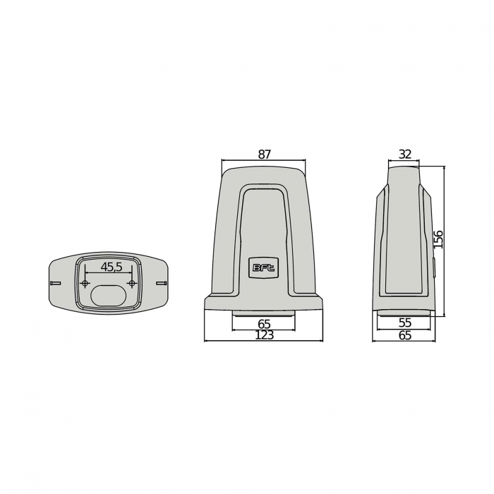 Lampa semnalizare, BFT, RADIUS LED BT pentru automatizari porti, usi garaj, 24V | I-Systems [3]