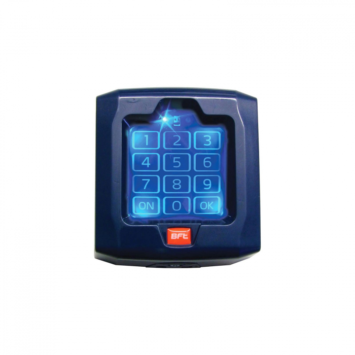 Selector digital cu tastatura, BFT, Q.BO TOUCH pentru automatizari porti, control acces | I-Systems [0]