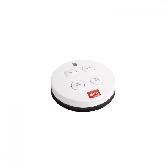 Telecomanda wireless cu 4 canale , Bft, MIME PAD, control radio, montaj perete, cod rulare   I-Systems [2]