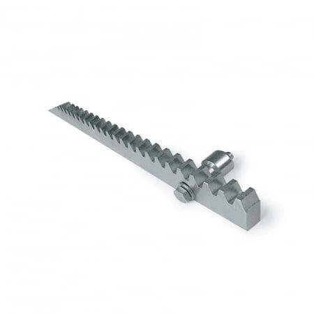 Cremaliera metalica zincata, BFT, CVZ-S, pentru automatizari porti culisante, 1m, 800Kg   I-Systems [0]