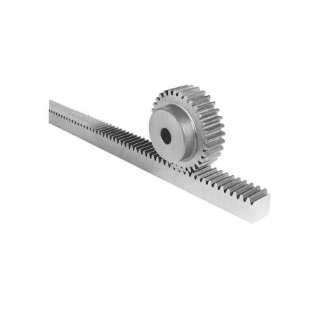 Cremaliera metalica zincata, BFT, CVZ-S, pentru automatizari porti culisante, 1m, 800Kg   I-Systems [1]
