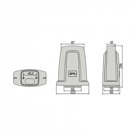 Lampa semnalizare, BFT, RADIUS LED AC pentru automatizari porti, usi garaj, 230V   I-Systems [4]