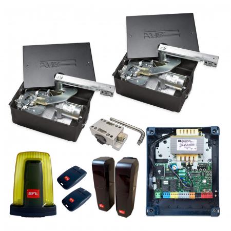 Kit automatizare porti batante, BFT, ELI 250 BT, 3.5m/canat, 400Kg/poarta, 24V | I-Systems [0]