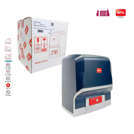 Kit automatizare porti culisante, BFT, Ares Ultra BT A1000, 1000Kg/poarta, 4m cremaliera, 24V   I-Systems [1]