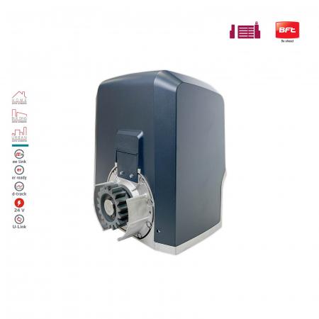 Kit automatizare porti culisante, BFT, Ares Ultra BT A1000, 1000Kg/poarta, 4m cremaliera, 24V   I-Systems [2]