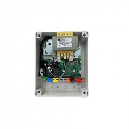 Kit automatizare poarta batanta cu brat articulat, BFT, E5 BT-A12, 1.2m/canat, 80Kg, 24V   I-Systems [2]
