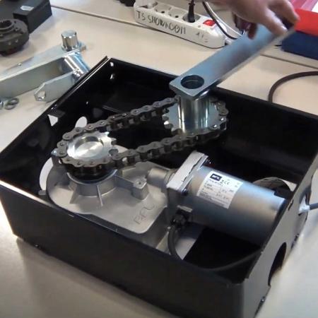 Kit extensie deschidere poarta pana la 180°, BFT, E180, pentru motoarele ELI BT, ELI AC   I-Systems [1]