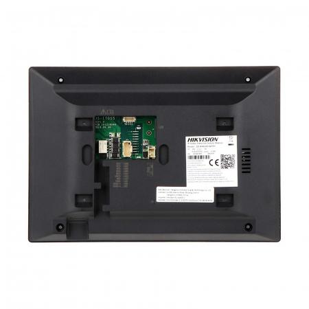 "Kit videointerfon pentru vila Hikvision IP DS-KV8102-IM DS-KH6320-WTE1, post exterior Aluminiu, monitor 7"" Touch-Screen | I-Systems [2]"