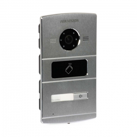"Kit videointerfon pentru vila Hikvision IP DS-KV8102-IM DS-KH6320-WTE1, post exterior Aluminiu, monitor 7"" Touch-Screen | I-Systems [3]"