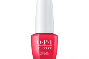 OPI GEL COLOR – She's A Bad Muffuletta! 7.5ml
