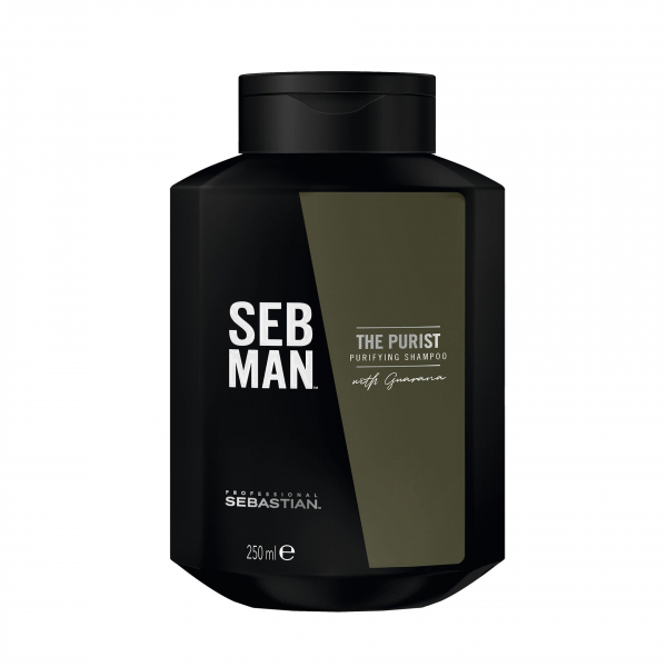 SEB MAN THE PURIST sampon antimătreață 250ml
