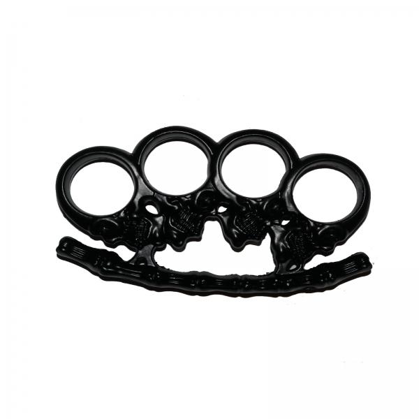 Rozeta - Box - Pumnal - Cap de mort - Craniu - Negru 0