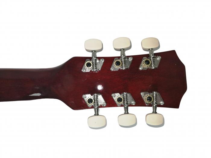 Chitara clasica din lemn 95 cm, visinie Cutaway, husa nylon inclusa 6