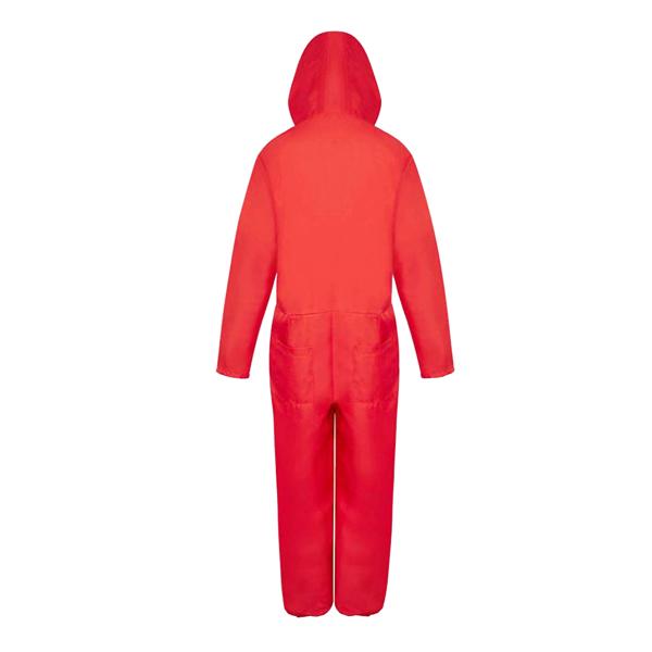 Costum pentru copii, La Casa de Papel, marimea M, 110-120 cm, rosu 1