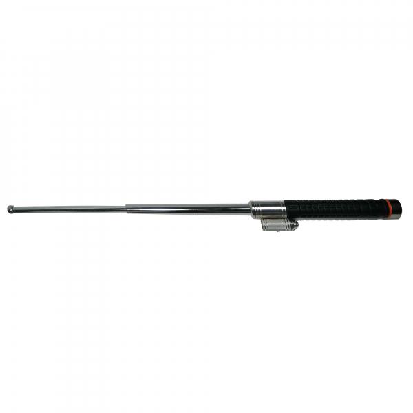 Baston telescopic cromatic, On Point, 63.5 cm, laser integrat, negru 1