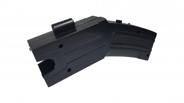 Pistol taser cu electrosoc, 3 rezerve, toc cadou 2