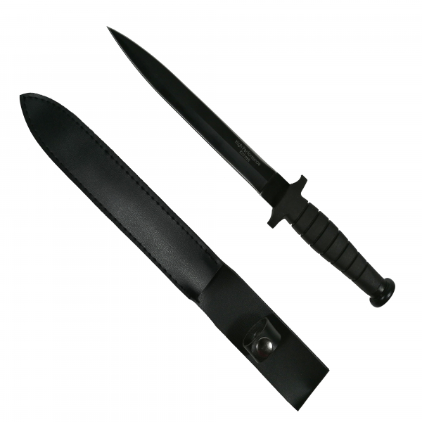 Cutit / Baioneta, doua taisuri, Tactical Knife, camping, vanatoare, pescuit, 35 cm 0