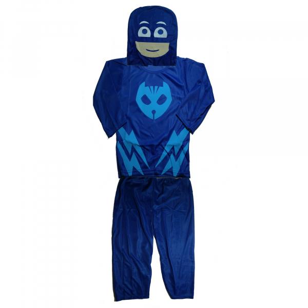 Set costum Eroi in Pijamale - Pisoi - Connor - marimea S si manusa cu lansator 1