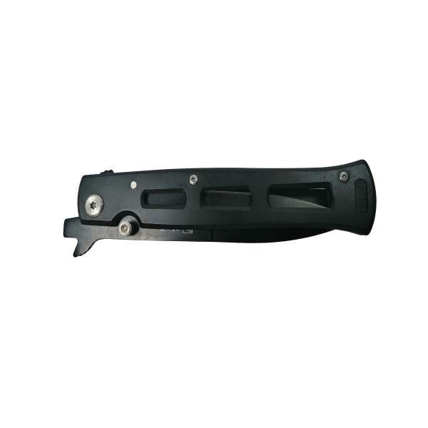 Cutit-briceag, otel inoxidabil, deschidere manuala, negru, 22 cm 1
