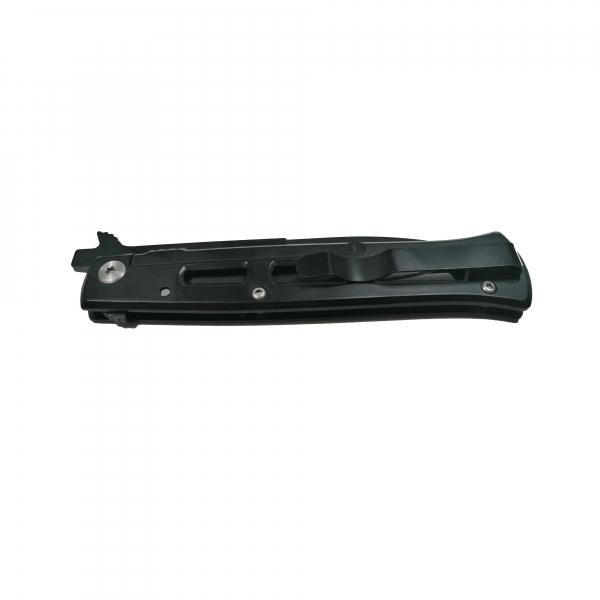 Cutit-briceag, otel inoxidabil, deschidere manuala, negru, 22 cm 2