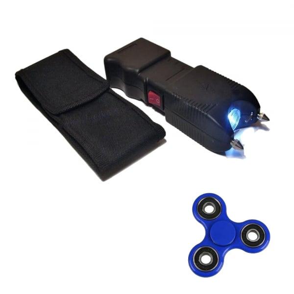 Electrosoc, TW-10, negru, 400 KV, spinner cadou
