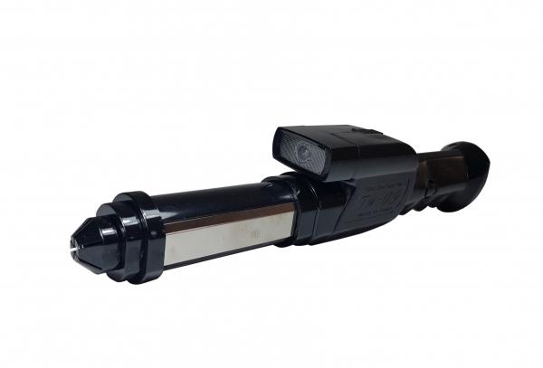 Baston Telescopic cu electrosoc, sirena si lanterna, 800Kv 1