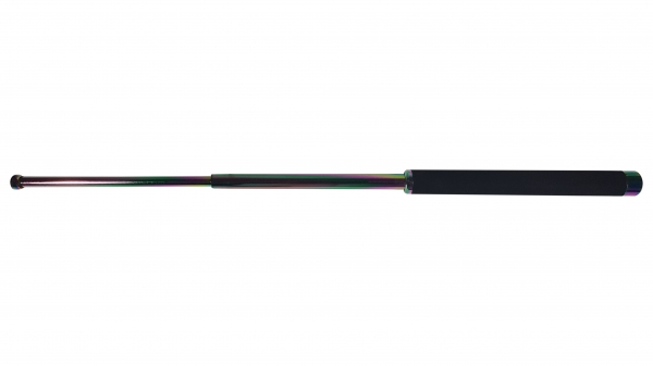 Baston telescopic 66 cm fade - rainbow - curcubeu 2