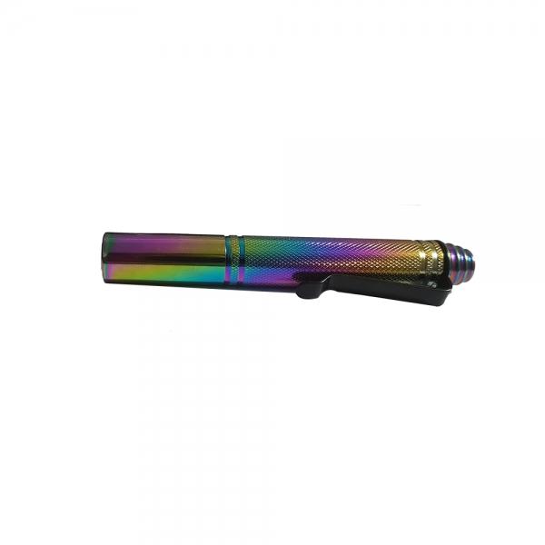 Baston telescopic din otel, rainbow, 31 cm, 3 sectiuni, husa cadou 4