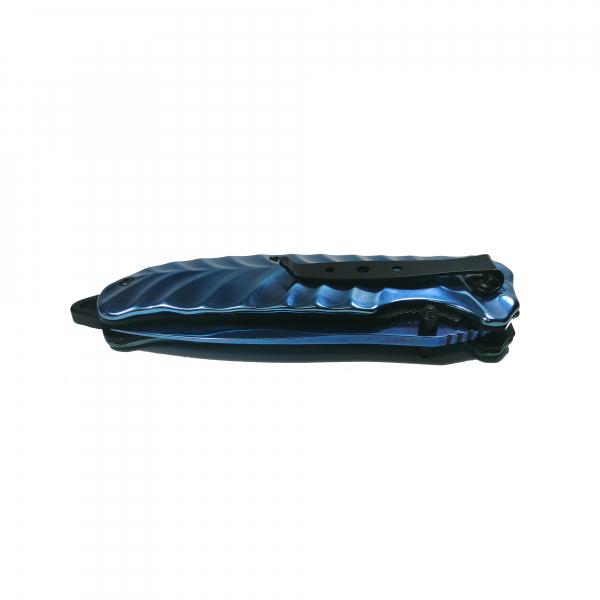 Briceag-cutit, otel inoxidabil, albastru, Knife of Atlantis, 23 cm [2]
