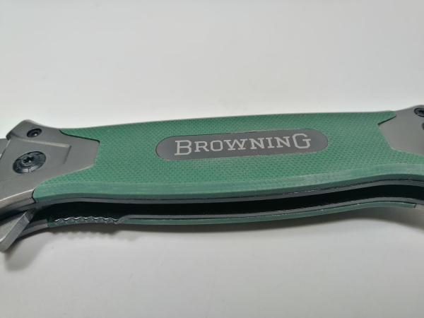 Briceag-cutit, otel inoxidabil, natur, Browning, Camping Knife, 21,5 cm 3