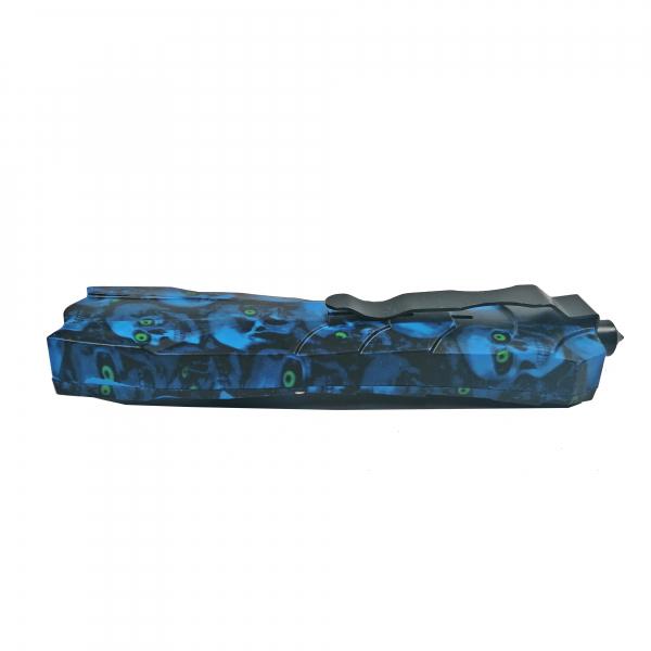 Briceag, PVC, Blue Skulls, 23.5 cm 2