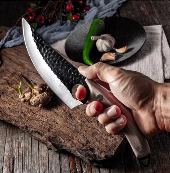 Cutit de vanatoare, Japanese Style, otel inoxidabil, 27.5 cm, teaca inclusa [6]