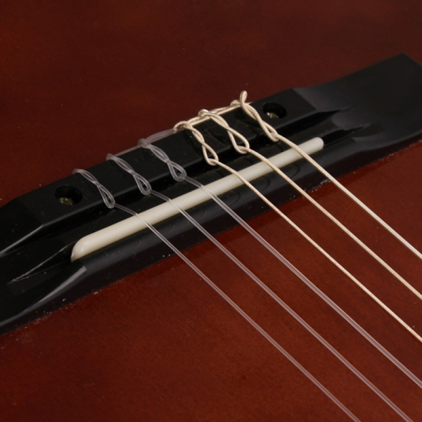 Chitara clasica din lemn 95 cm, Clasic Brown 3