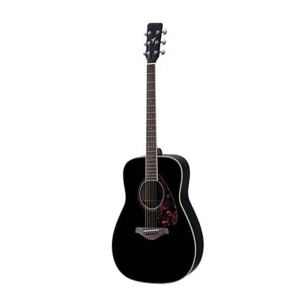 Set chitara clasica din lemn 95 cm, negru clasic, husa nylon si corzi acustice 2