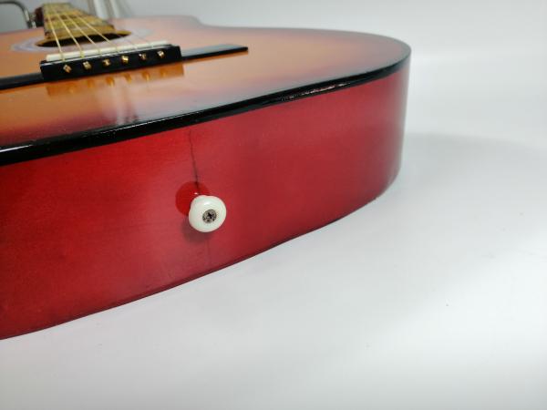 Chitara clasica din lemn 95 cm, natur clasic 3