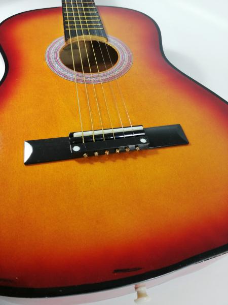 Chitara clasica din lemn 95 cm, natur clasic 4