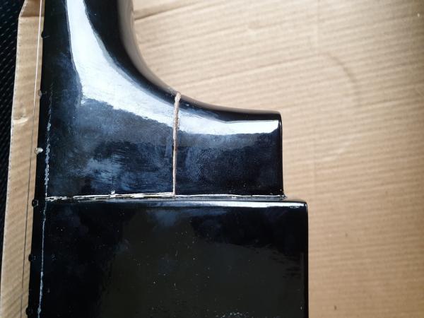 Chitara clasica din lemn 95 cm, de decor 2