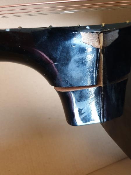 Chitara clasica din lemn 95 cm, de decor 3