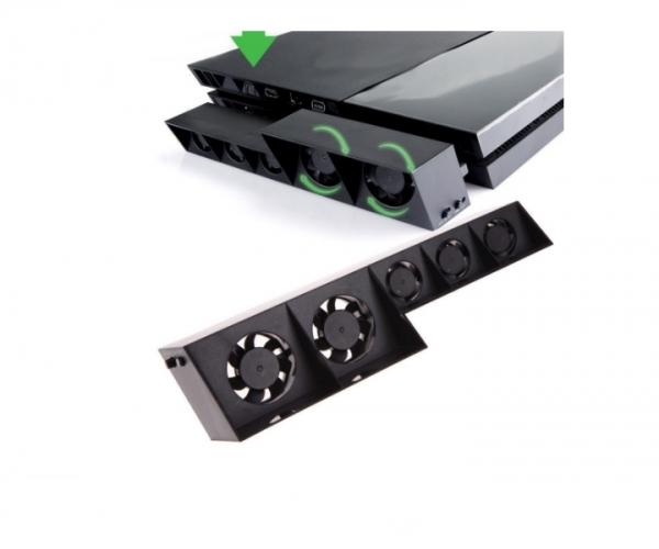 Cooler Fan Dobe pentru PlayStation PS4, 5 ventilatoare 3